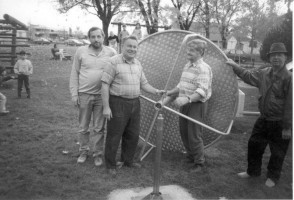 Vorbereitung zum Kinderfest 1989