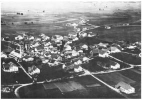 Altenstadt im Luftbild - um 1920