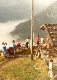 1985: Wochenende am Hochvogel - Alpe Schwabeck